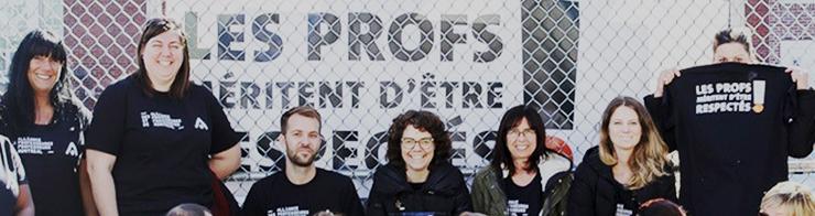Emploi pour l'Alliance des professeures et professeurs de Montréal (APPM)